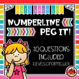 Maths Warm Ups: Numberline Peg It!