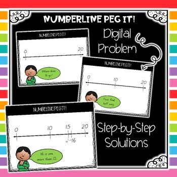 Maths Warm Ups: Numberline Peg It!