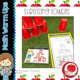 Maths Warm Ups: Subitising Towers