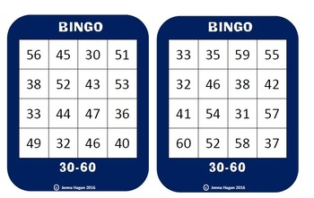 Maths - Word Problems Bingo - All operations