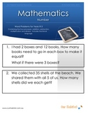 Maths Word Problems-the four processes