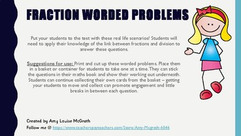 Maths Worded Problems
