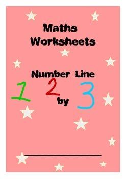 Maths Worksheet - Number Line