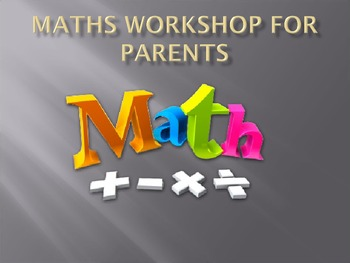 Maths Workshops For Parents (16 slides)