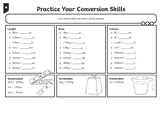 Maths Y6 Measurement Practise Your Conversion Skills Home Learning Tasks
