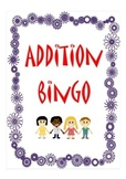 Maths addition bingo (numbers 0-11)