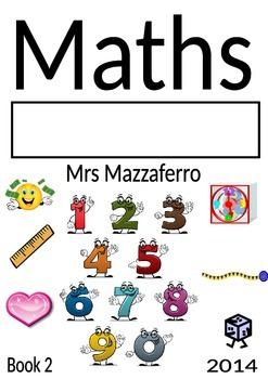 Maths book cover