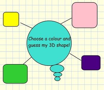 Maths guessing game - 3D Shapes