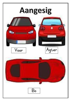 Maths position poster in Afrikaans