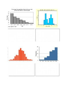 Maths revision booklet - data representation (R2L) with vocabulary focus