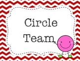 Maths table group names - shape themed