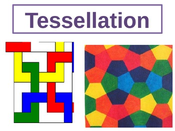 Maths tessellation lesson