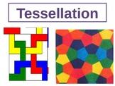 Maths tessellation lesson