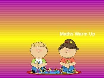 Maths warm up