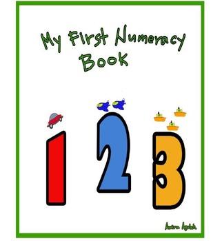 Maths workbook for Kindergarten -grade one
