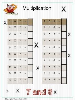 Maths worksheet Pack