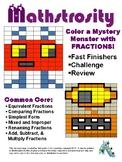 Mathstrocity: Fraction Mystery Monster Challenge