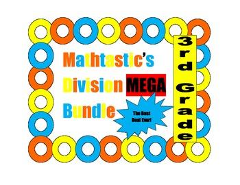 Mathtastic's 3rd Grade Division Games MEGA Bundle for Common Core