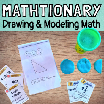 Mathtionary - A Pictionary Game of Drawing and Modeling Math!