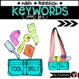Mathtivity Math Key Words Tool  Kit Addition