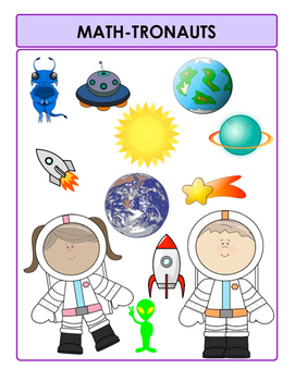 Mathtronauts - Progress Record for Learning Math Facts