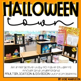 Multiplication and Division Halloween Town - Mathville