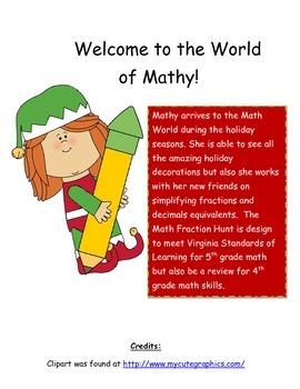 Mathy Fraction Hunt