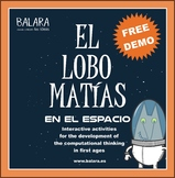 Matías, the Wolf in Space  El lobo Matías en el espacio demo for PC and Android