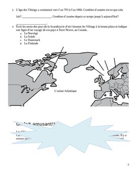 Matières intrégrées - Les Vikings