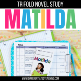 Matilda Foldable Novel Study Unit