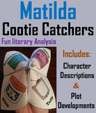 Matilda Novel Study (Scoot Unit Review Game)