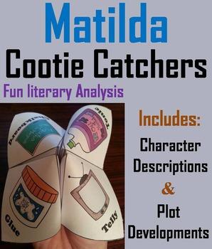 Matilda Novel Study (Scoot Unit Review Game)