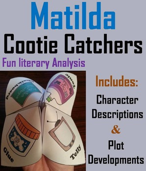 Matilda Activity (Scoot Unit Review Game)