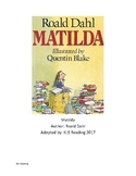 Matilda - Adapted Book chapter summary and questions