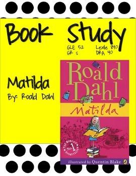 Matilda Book Study (Print and Go)
