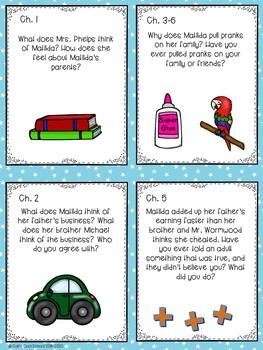 Matilda Bundle! Read Aloud Activities and Lapbook