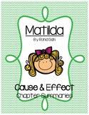 Matilda- Cause and Effect