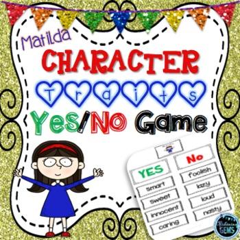 Matilda Character Traits Game