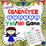Matilda Novel Study - Character Traits Game