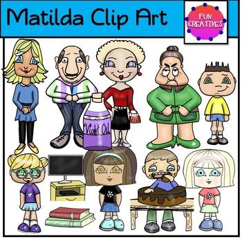 Matilda Clip Art