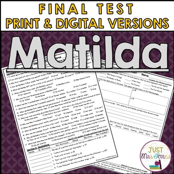 Matilda Final Test