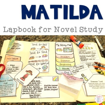 Matilda Lapbook for Novel Study