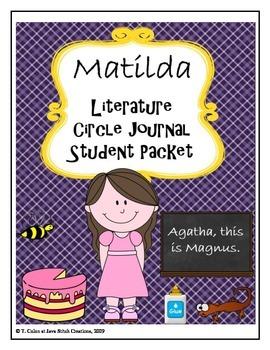 Matilda Literature Circle Journal Student Packet