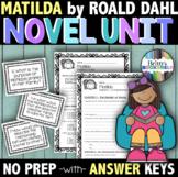 Matilda by Roald Dahl - A Novel Unit