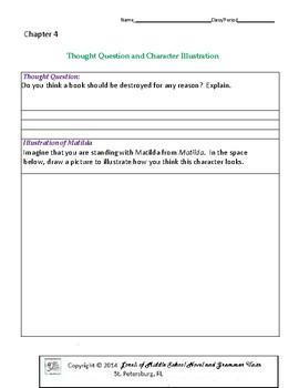 Matilda- Literature and Grammar Unit