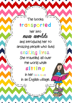 Matilda Reading Poster