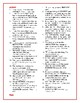 Matilda: Synonym/Antonym Vocabulary Crossword—Use with Boo