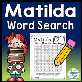 Matilda Word Search Activity