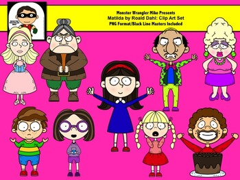 Matilda and Friends Clip Art Collection
