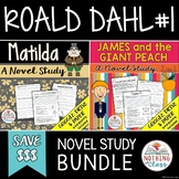 Matilda and James and the Giant Peach: Roald Dahl Novel Study Bundle